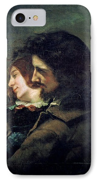 The Happy Lovers Phone Case by Gustave Courbet