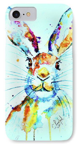 IPhone Case featuring the painting The Hare by Steven Ponsford