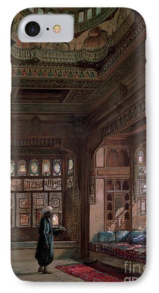 The Harem Of Sheikh Sadat, Cairo, 1870 IPhone Case