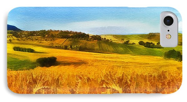The Harvest Is Plentiful Phone Case by Dale Jackson