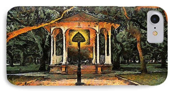 The Haunted Gazebo IPhone Case by RC deWinter
