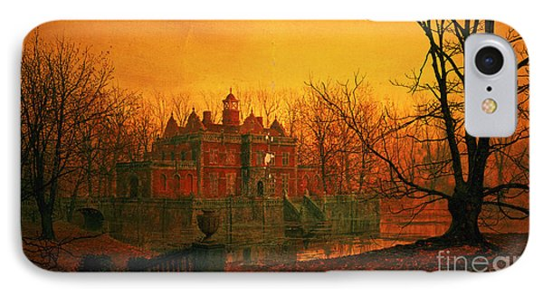 The Haunted House IPhone Case