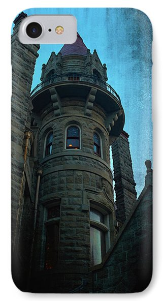 The Haunted Tower IPhone Case by Keith Boone