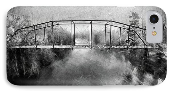 IPhone 7 Case featuring the digital art The Haunting by JC Findley