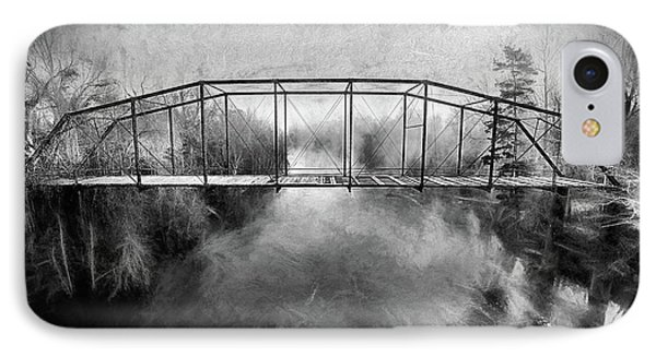 IPhone Case featuring the digital art The Haunting by JC Findley