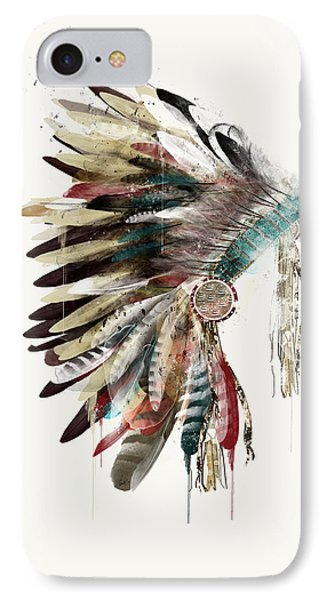 The Headdress IPhone Case by Bri B