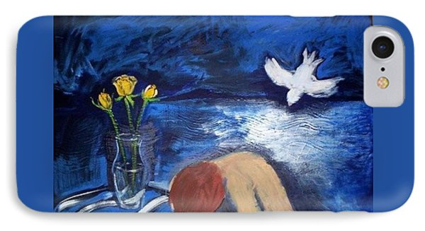 IPhone 7 Case featuring the painting The Healing by Winsome Gunning