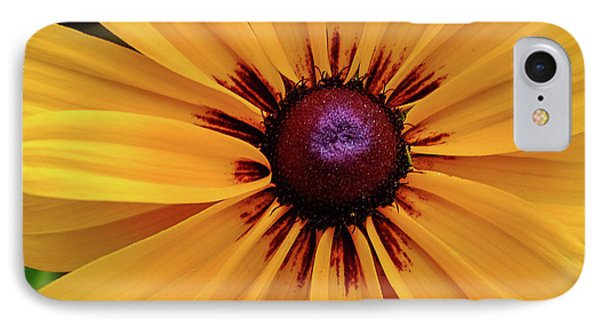 IPhone Case featuring the photograph The Heart Of A Flower by Monte Stevens