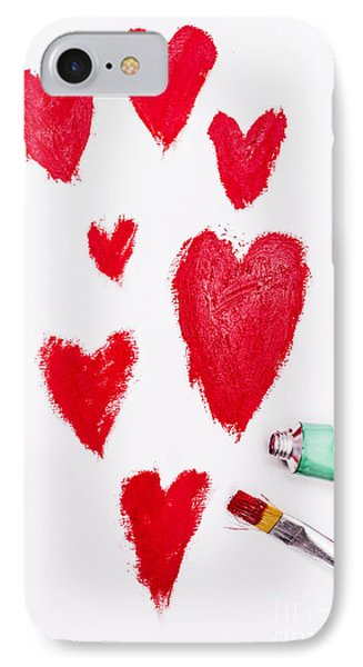 The Heart Of Love IPhone Case