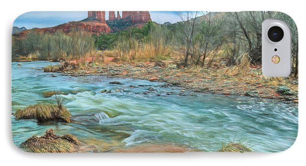 The Heart Of Sedona IPhone Case by Donna Kennedy