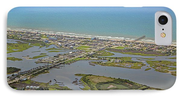 The Heart Of Topsail Island IPhone Case by Betsy Knapp