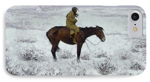 The Herd Boy IPhone Case by Frederic Remington