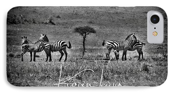 IPhone Case featuring the photograph The Herd by Karen Lewis