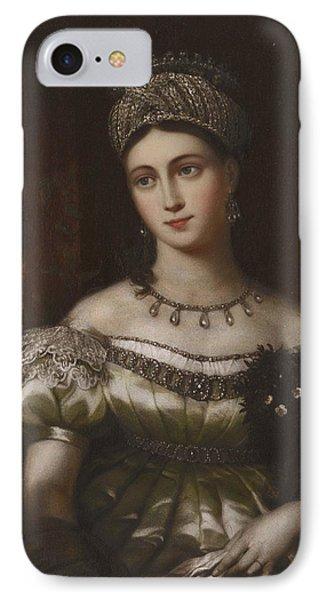 The Hereditary Duchess Of Saxe Gotha Altenburg IPhone Case