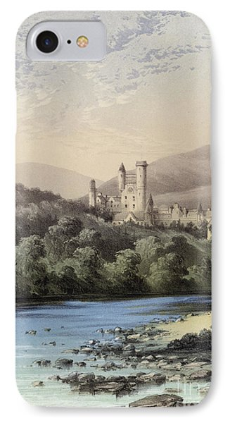 The Highland Home, Balmoral Castle IPhone 7 Case by English School