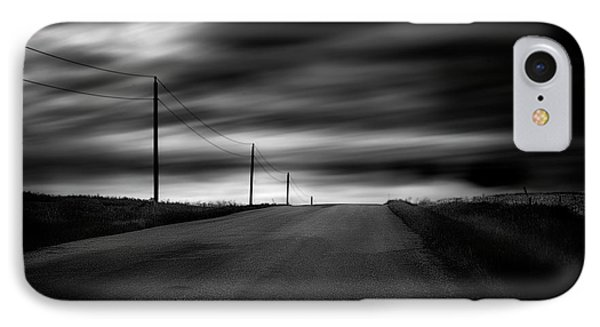 IPhone Case featuring the photograph The Highway by Dan Jurak
