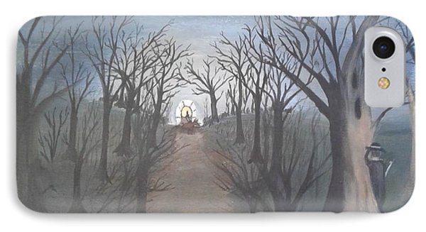 The Highwayman #1 IPhone Case by Lori Lafevers