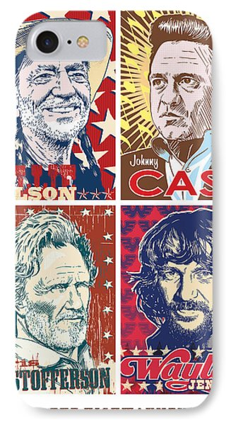 The Highwaymen IPhone Case