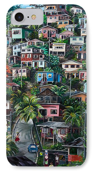 The Hill     Trinidad  Phone Case by Karin  Dawn Kelshall- Best