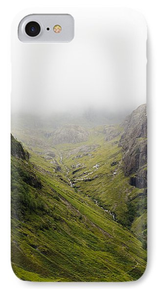 IPhone Case featuring the photograph The Hills Of Glencoe by Christi Kraft
