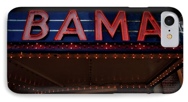 The Historic Bama Theatre IPhone Case by Mountain Dreams