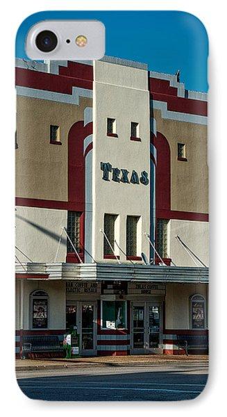 The Historic Texas Theatre IPhone Case