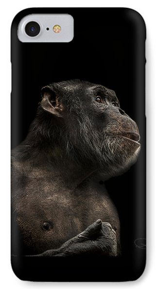 Ape iPhone 7 Case - The Hitchhiker by Paul Neville