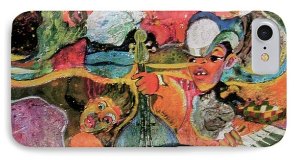 The Holland Jazz Trio IPhone Case by Lee Ransaw