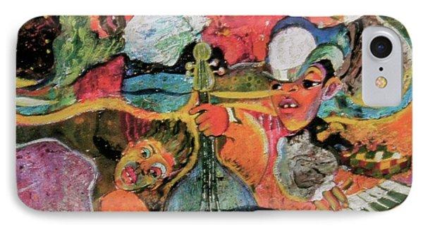 The Holland Jazz Trio IPhone Case