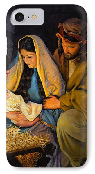 Jesus iPhone 7 Case - The Holy Family by Greg Olsen