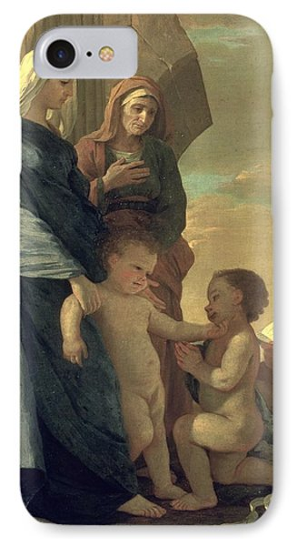 The Holy Family Phone Case by Nicolas Poussin