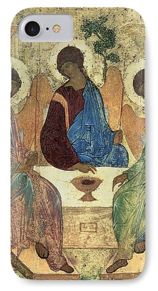 The Holy Trinity IPhone Case by Andrei Rublev