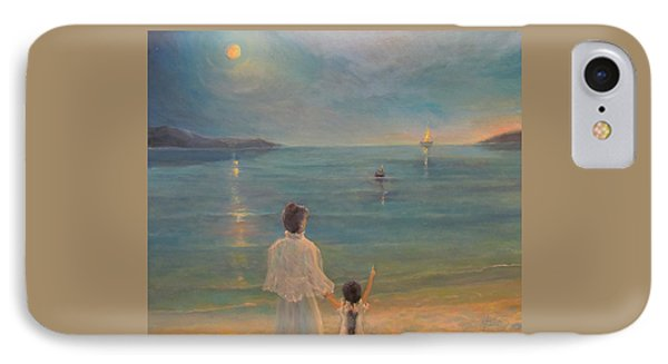 IPhone Case featuring the painting The Homecoming by Donna Tucker
