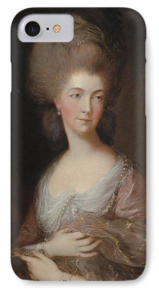 The Hon Mrs Anna Luttrell Duchess Of Cumberland  IPhone Case