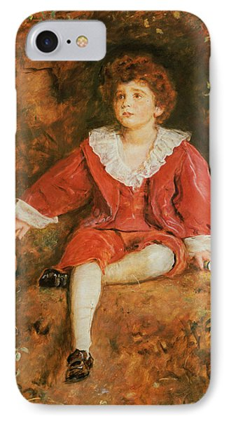 The Honorable John Neville Manners IPhone Case by John Everett Millais
