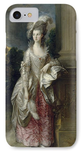 The Honourable Mrs Graham  IPhone Case by Thomas Gainsborough