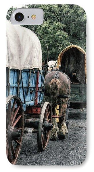 The Horse Train  Phone Case by Steven Digman