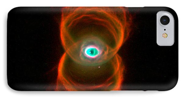 The Hourglass Nebula  IPhone Case by Hubble Space Telescope