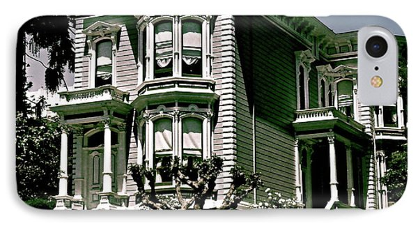 The House On The Hill IPhone Case by Ira Shander