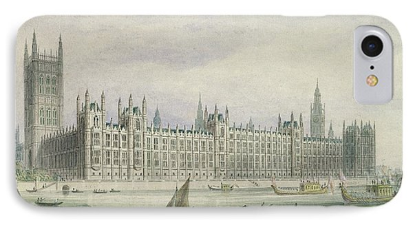 The Houses Of Parliament Phone Case by Thomas Hosmer Shepherd