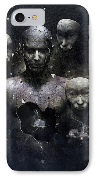 The Human In Me Phone Case by Cameron Gray