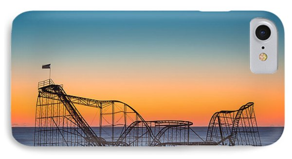 The Iconic Star Jet Roller Coaster Phone Case by Michael Ver Sprill
