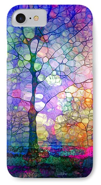 The Imagination Of Trees IPhone Case by Tara Turner