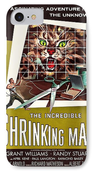 The Incredible Shrinking Man 1957 IPhone Case by Mountain Dreams