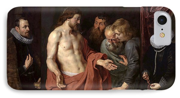 The Incredulity Of St Thomas IPhone Case