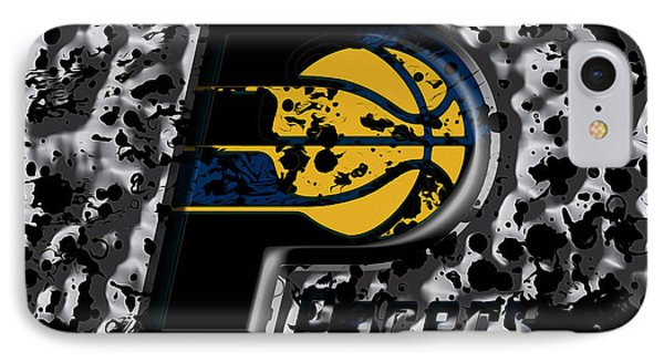 The Indiana Pacers IPhone Case by Brian Reaves