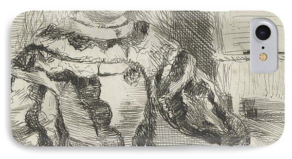 The Infanta Margarita IPhone Case by Edgar Degas