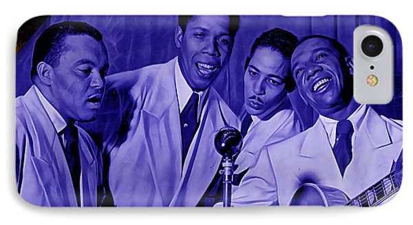 The Ink Spots Collection IPhone Case by Marvin Blaine
