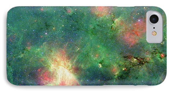 IPhone Case featuring the photograph The Invisible Dragon by NASA JPL-Caltech