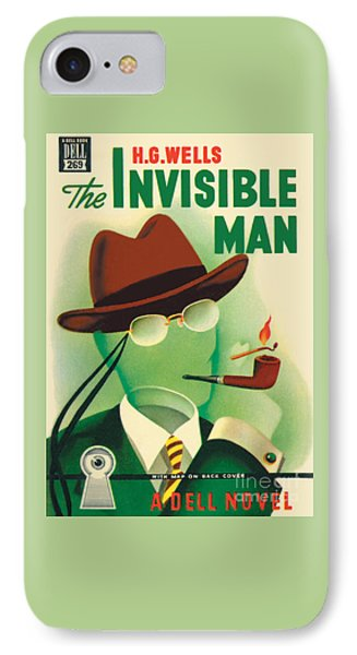 IPhone Case featuring the painting The Invisible Man by Gerald Gregg